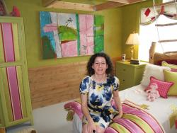 The child's room, designed by Nicole Ashey, was my personal favorite.